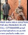 No.1 traditional healer in the world PROF AAFA +27730066655